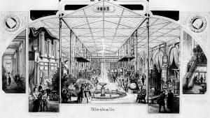 A02 Glasdach der Ausstellung 1852 Q Engst 1949.23