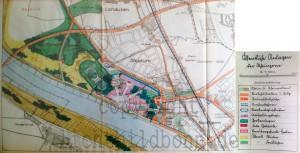 A307 Das Ausstellungsgelände im städtischen Bebauungsplan von 1928 Q StAD iii22863.jpg