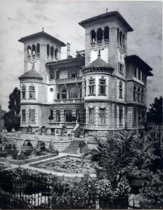 A326 Blick über den Park der Villa Leiffmann Q privat