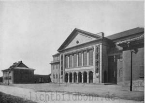 A341 Die neue Kunstakademie von Karl Wach Q Lux 1925