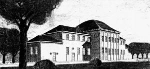 A342 Das Malgebäude der Neuen Kunstakademie Q Architektonische Rundschau 1913 Tafel 139-40