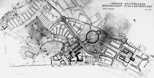 A351 Plan des Ausstellungsgeländes vom 19.10.1935. Q NL Emundts 9 Fot Julius Söhn