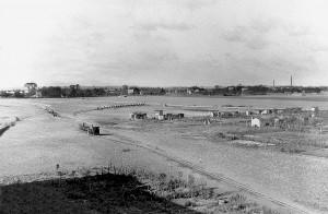 A376 Das nördliche Ausstellungsgebiet während der beginnenden Vorarbeiten Q Maiwald 1939 Bd. 1 o.S.