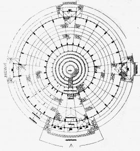 A431 Grundriss der Blumenhalle Q DBZ 6.1937.93