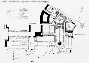 A462 Gartenplan von Gartend irektor Wilhelm Tapp, Oktober 1935 Q StAD NL Ebel 124