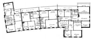 A701b Grundrisse der Ladenzeile, Erdgeschoss Q StAD xviii 1822.jpg