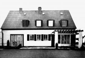 A735 Gartenseite eines weiteren Siedlungshauses Q Baumeister 12.1937.371