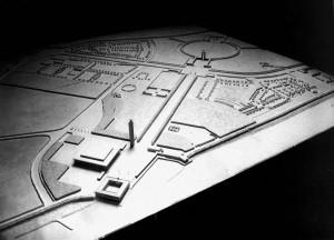 A804 Modell des von Grund entworfenen Schlageterforums Q StAD NL Emundts 9, Foto Julius Söhn