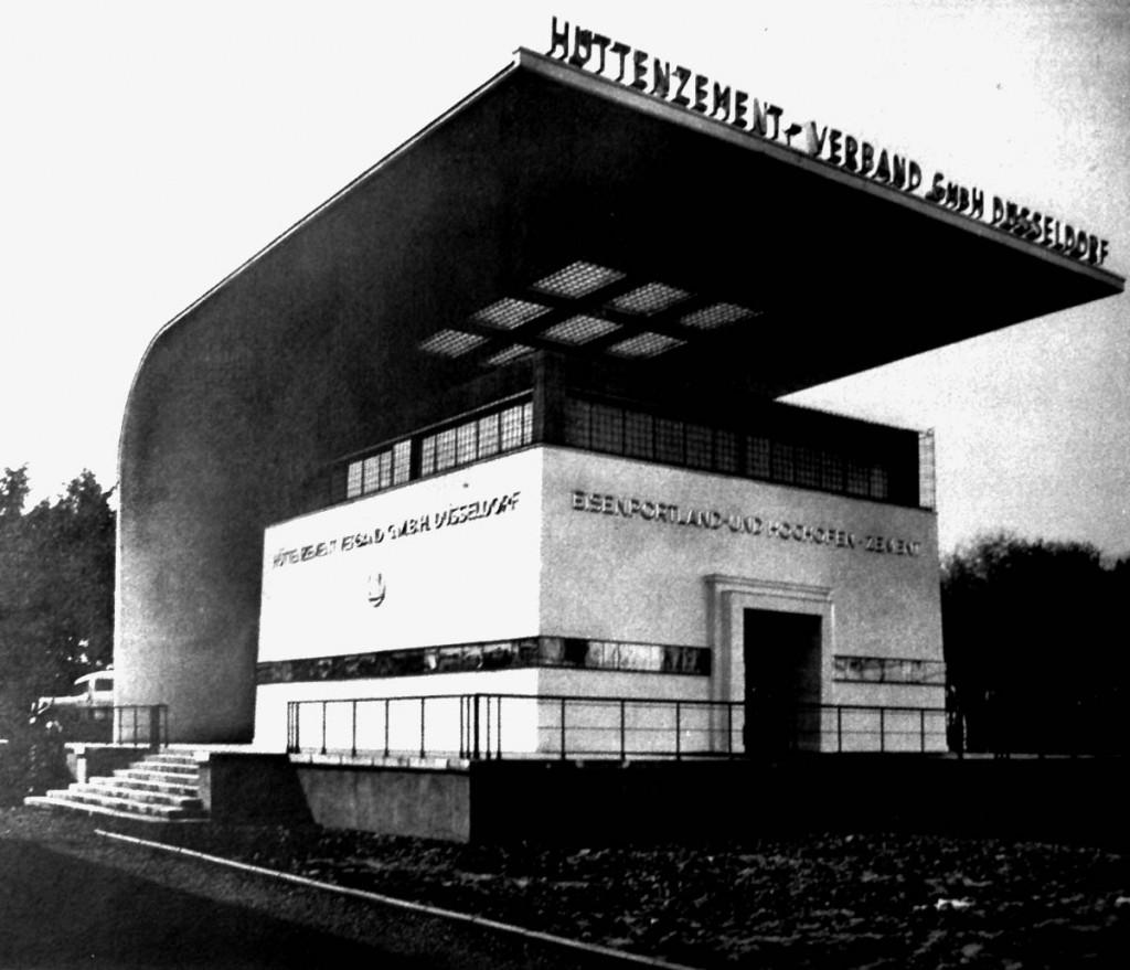 Ah01 Pavillon des Hüttenzementverbandes Q Amtlicher Führer, o.S
