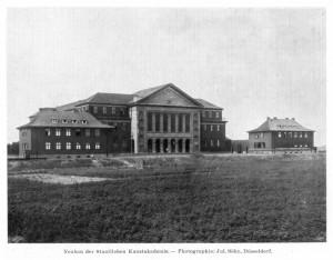 A158 Die nie vollendeten Bauten der Neuen Kunstakademie Q Lux 1925