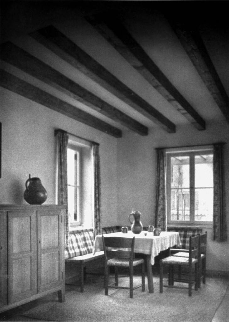 A900 Wohnstube im 'Haus des Obersteigers' Q ID 1937.354