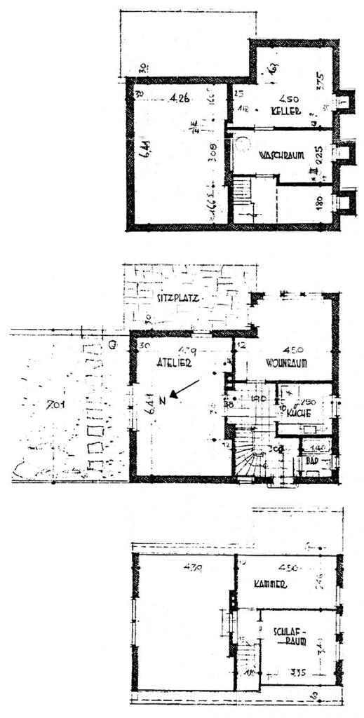 A957 Risse GS 7 Architekt P. Dierichsweiler Q StAD xviii 1782