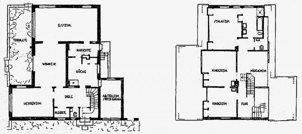 A961 Grundstück 13 Architekten Gebr. Quante Q MBS 1937.355