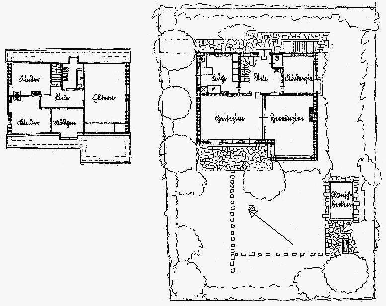 A962 Grundstück 21 Architekt H.N. Schröder Q MBS 1937.238