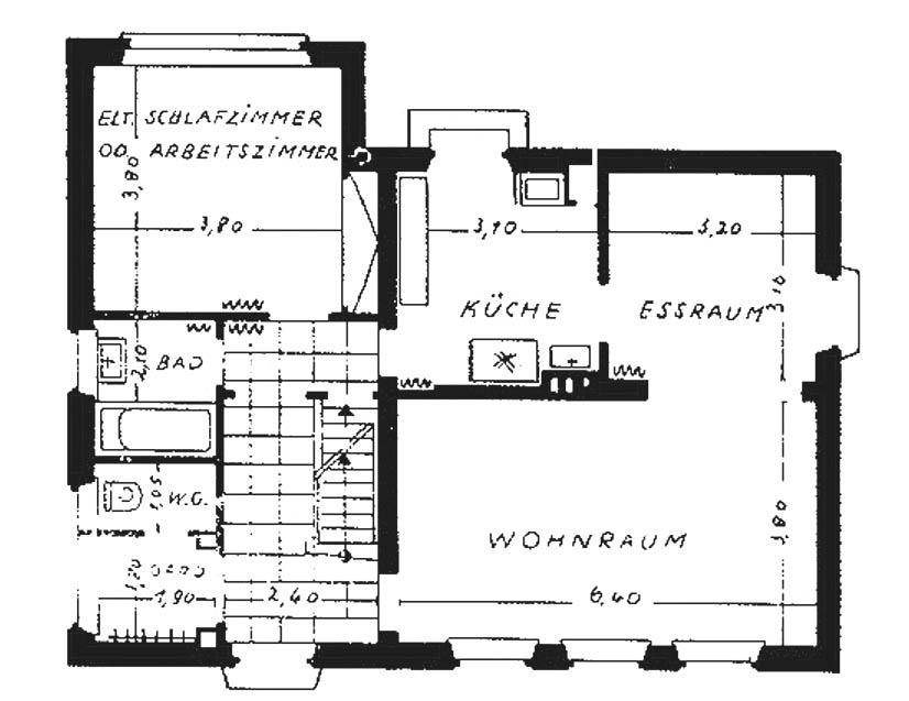 A969 Grundstück 46 Architekt Peter C. Brand Q Das Heim 1937.167‐172