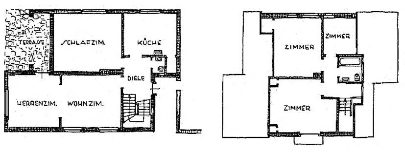 A970 Grundstück 53 Architekten Gebr. Quante Q MB 1937.370