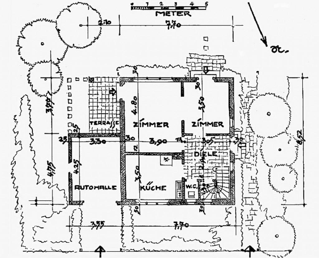 A971 Grundstück 54 Architekt H.N. Schröder Q Das Heim 1937.167-172