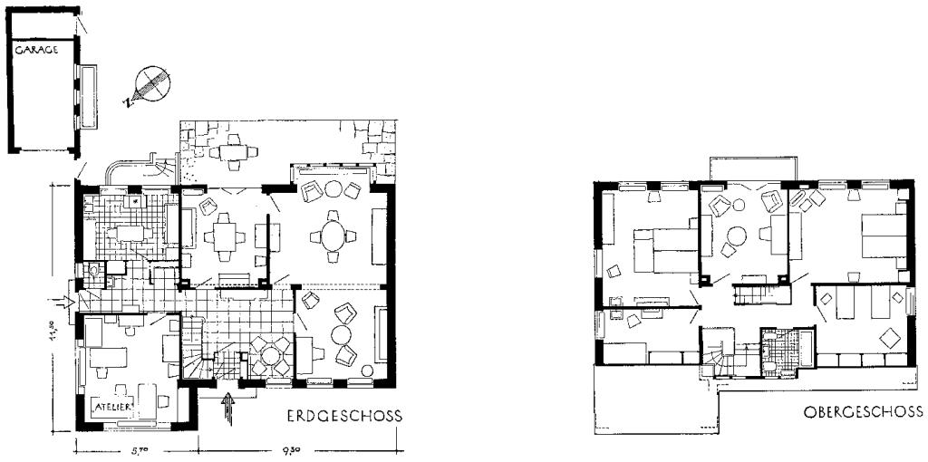 A977 Grundstück 84 Architekt Hans Klüssendorf Q MB 1937.368